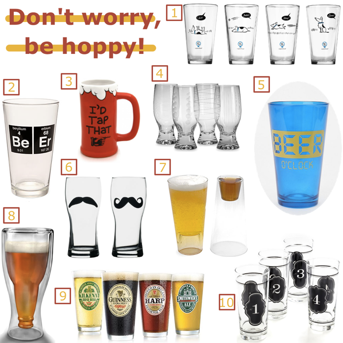 Cool Beer Glasses