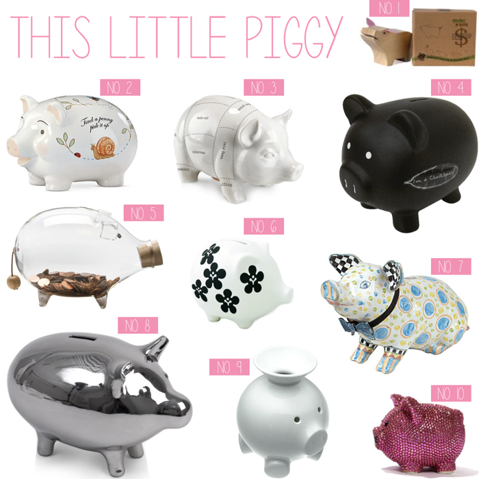 Cute Piggy Banks