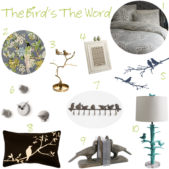 bird decorations for home. http www scullyandscully com home decor