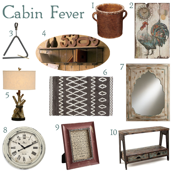 Rustic home decor for Home decor items online