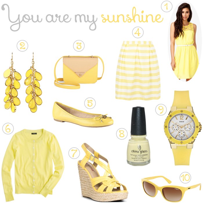 Yellow Fashion Spring 2013