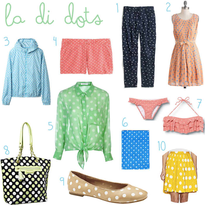 Polka Dot Summer Apparel