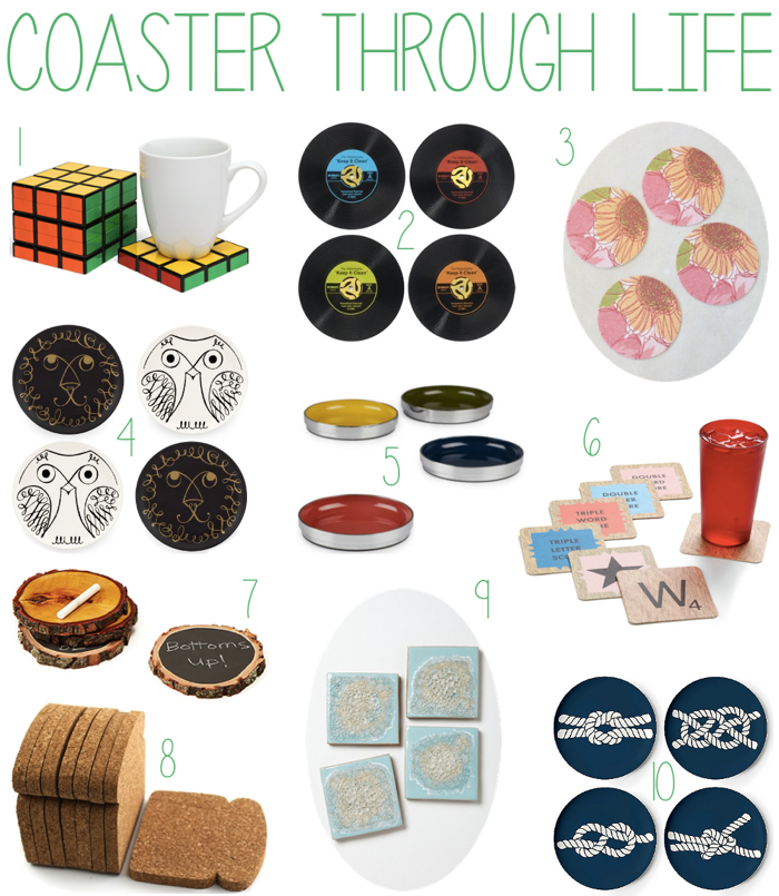 Cute Coaster Sets