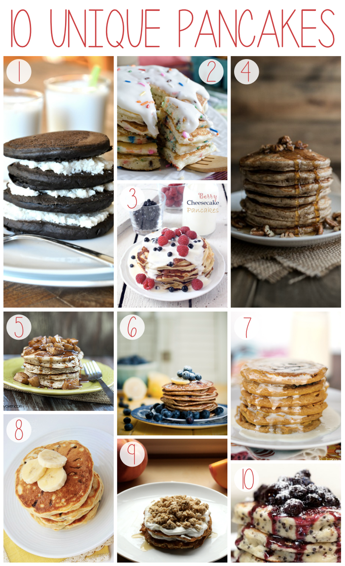 Unique Pancake Recipes