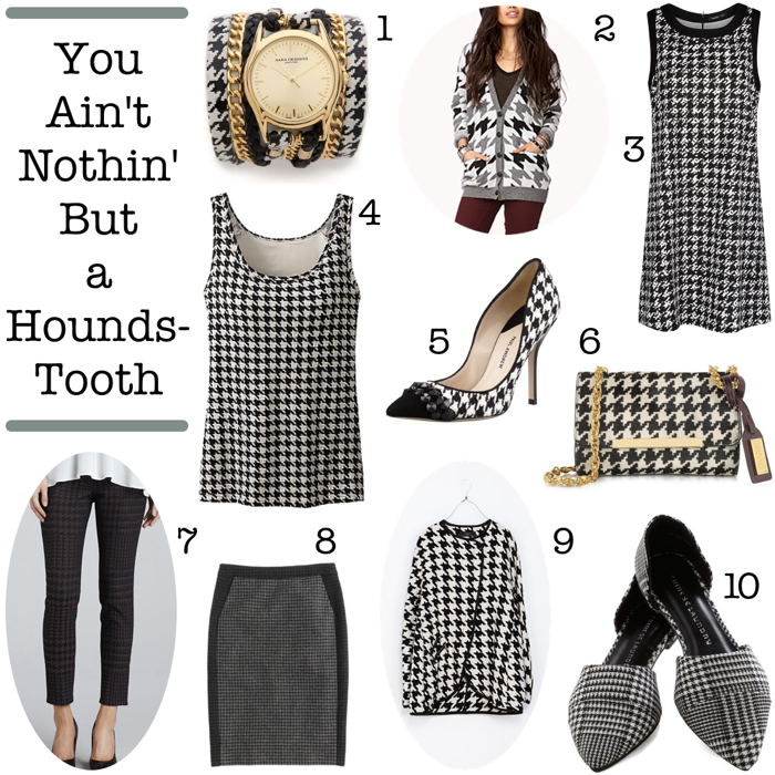 Houndstooth Clothing