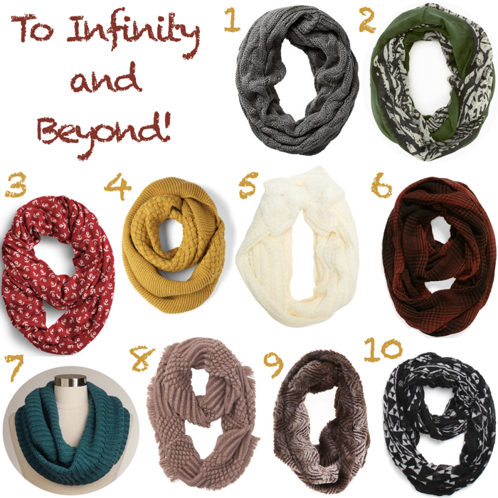 Infinity Scarves Under $40