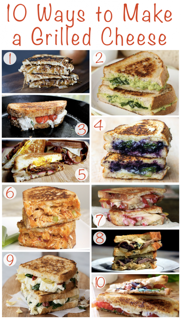 Ways to Make a Grilled Cheese