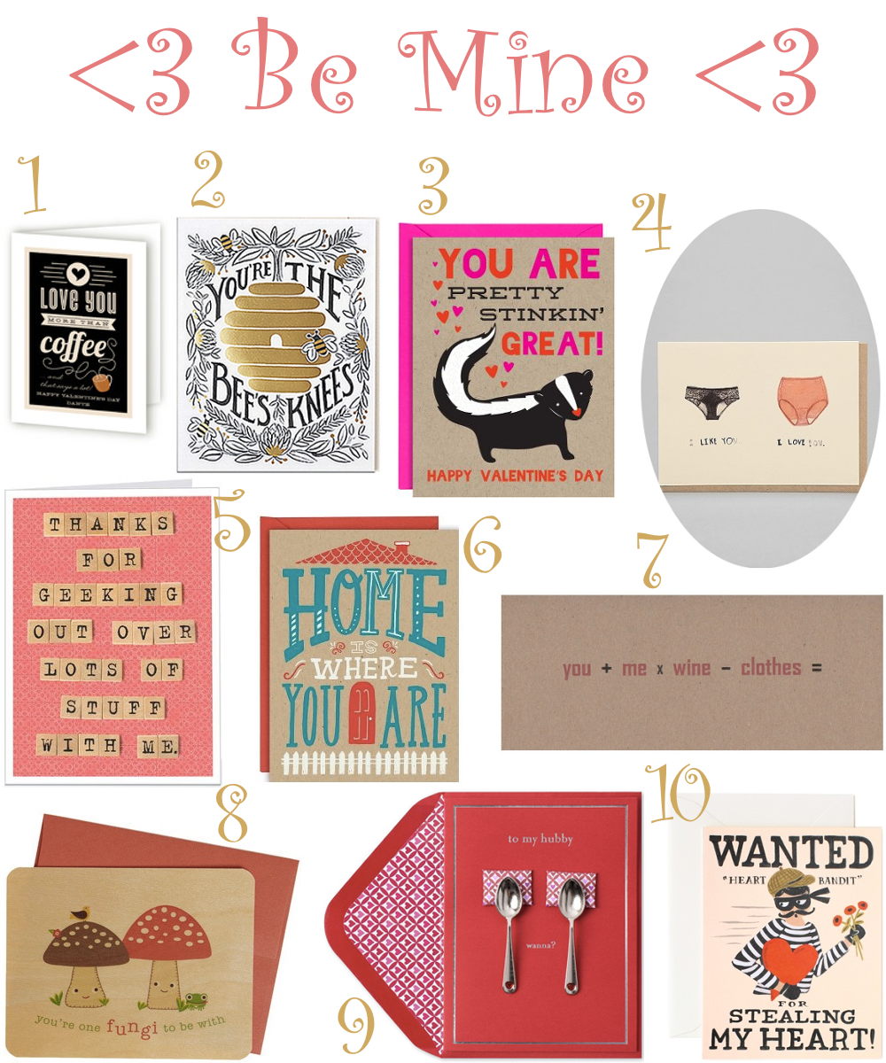 Home Living – Unusual Valentine Cards
