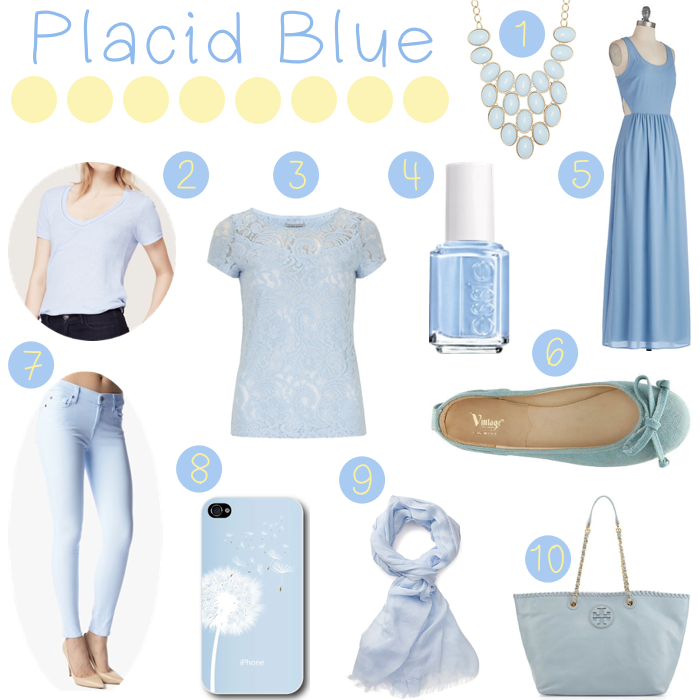 Placid Blue Fashion