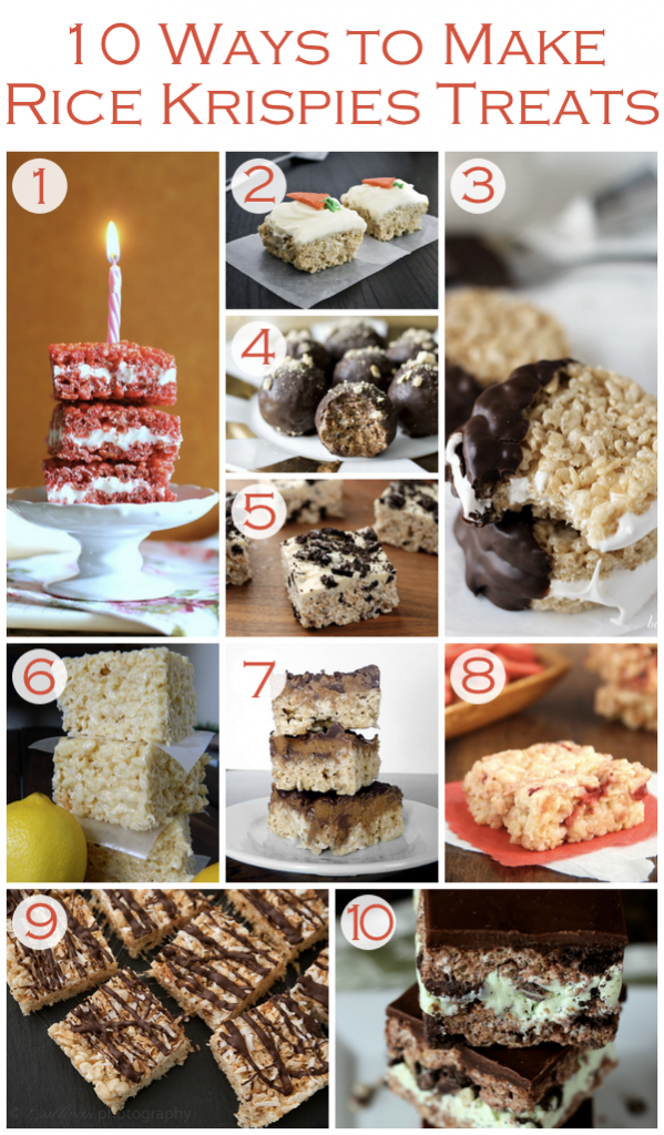 Ways to Make Rice Krispies Treats