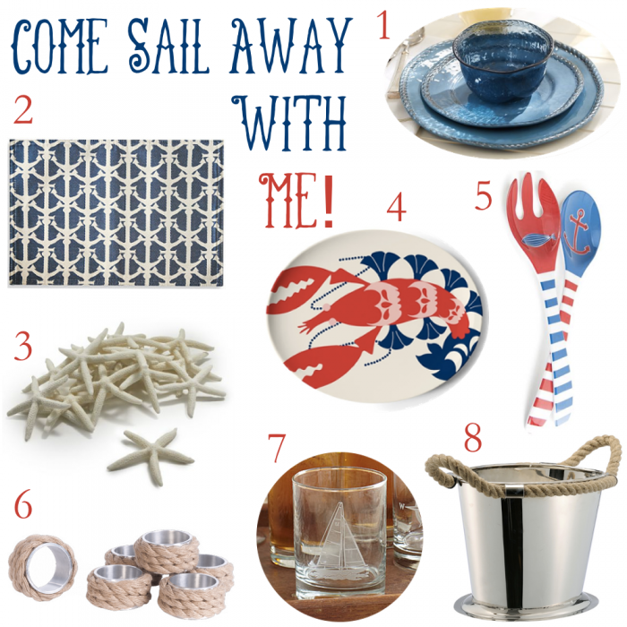 Coastal Tableware