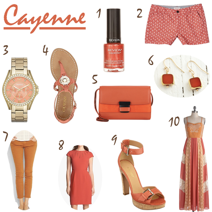 Spring 2014 Pantone Color Cayenne