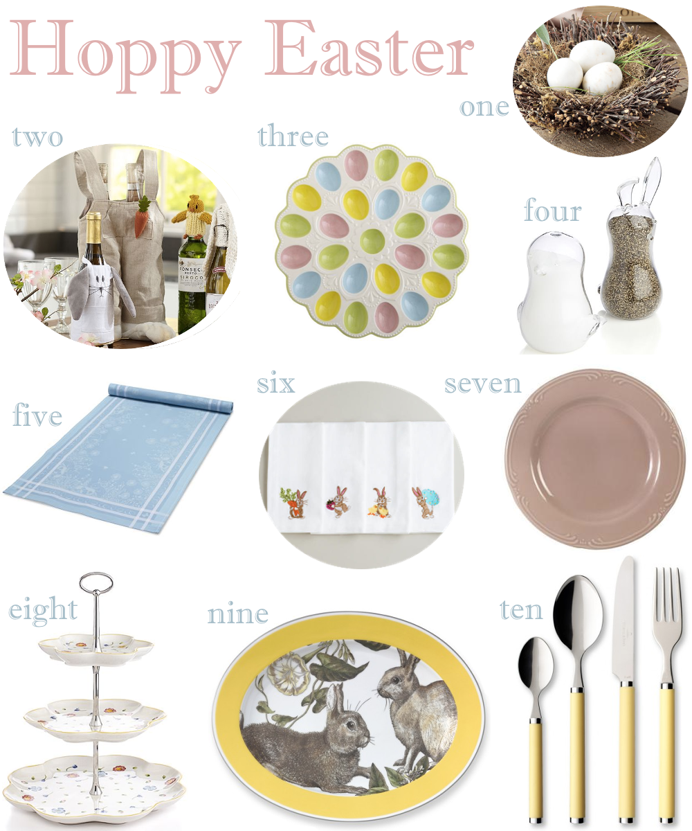 sc 1 st  Peach of Mind & Easter Tableware