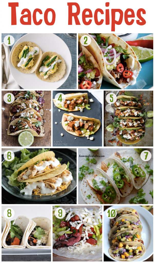 Gourmet Taco Recipes