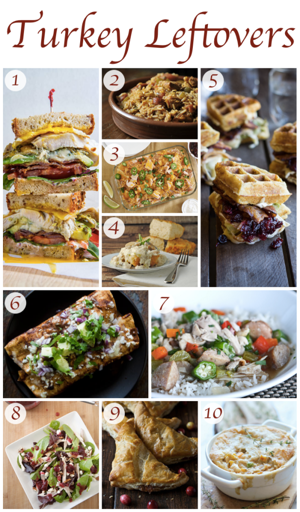 Turkey Leftover Recipes