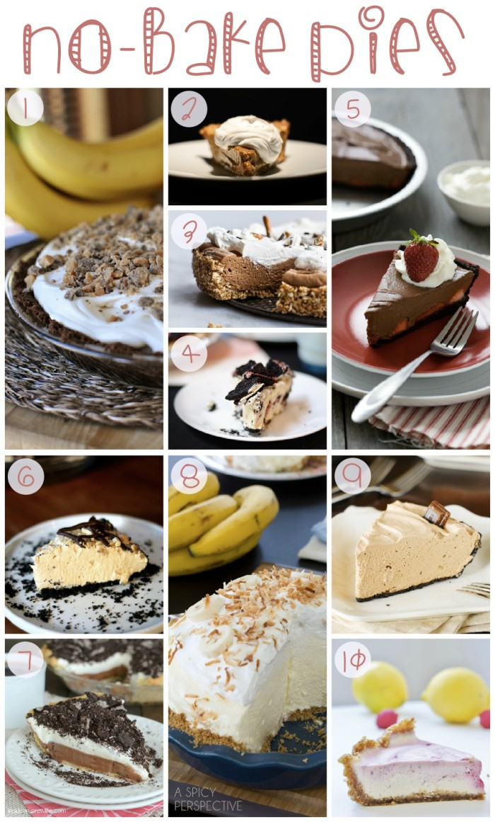 No-Bake Pies